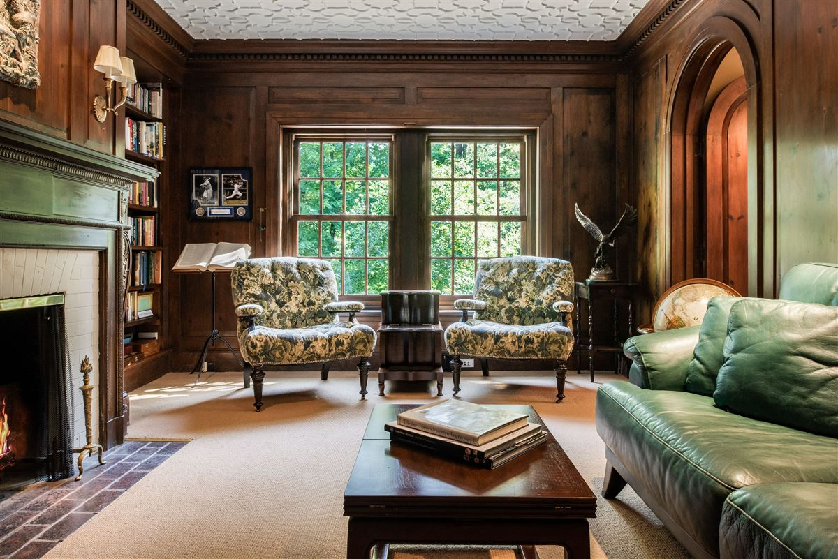 Mansions meticulously restored and updated shingle country house