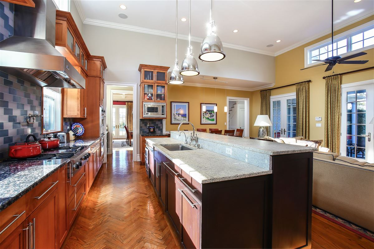 Luxury properties This home offers many upgrades