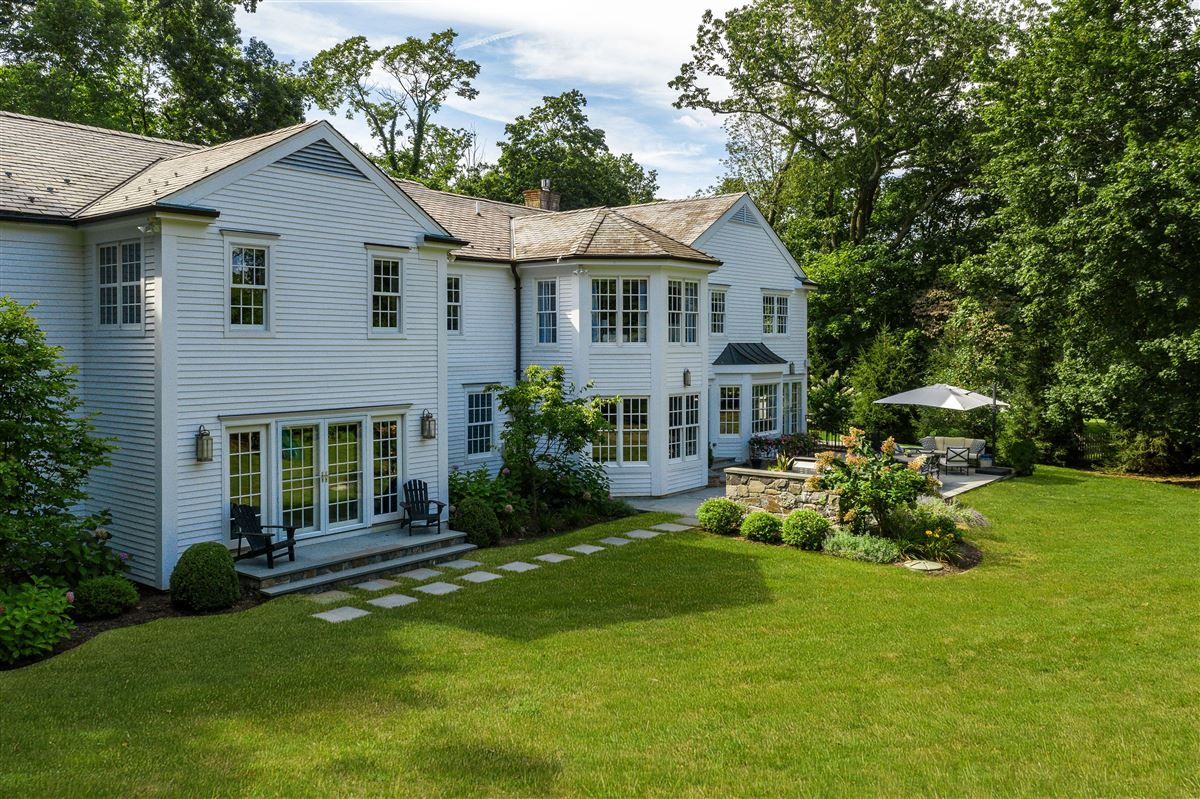 turnkey Rye Colonial mansions