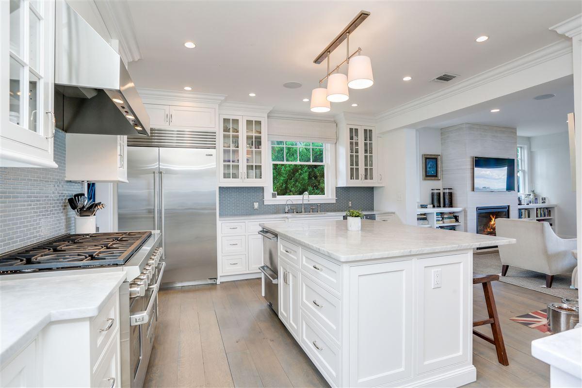 Sensational updated five bedroom waterfront home luxury properties