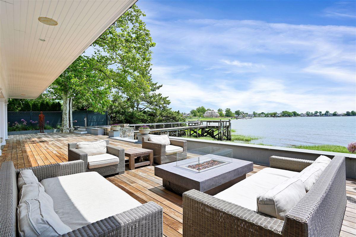 Luxury homes in Sensational updated five bedroom waterfront home