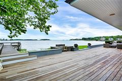 Sensational updated five bedroom waterfront home mansions