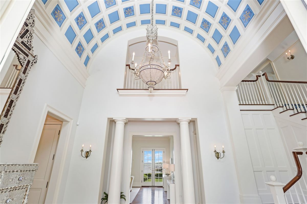 Luxury real estate Spectacular custom shingle style Colonial