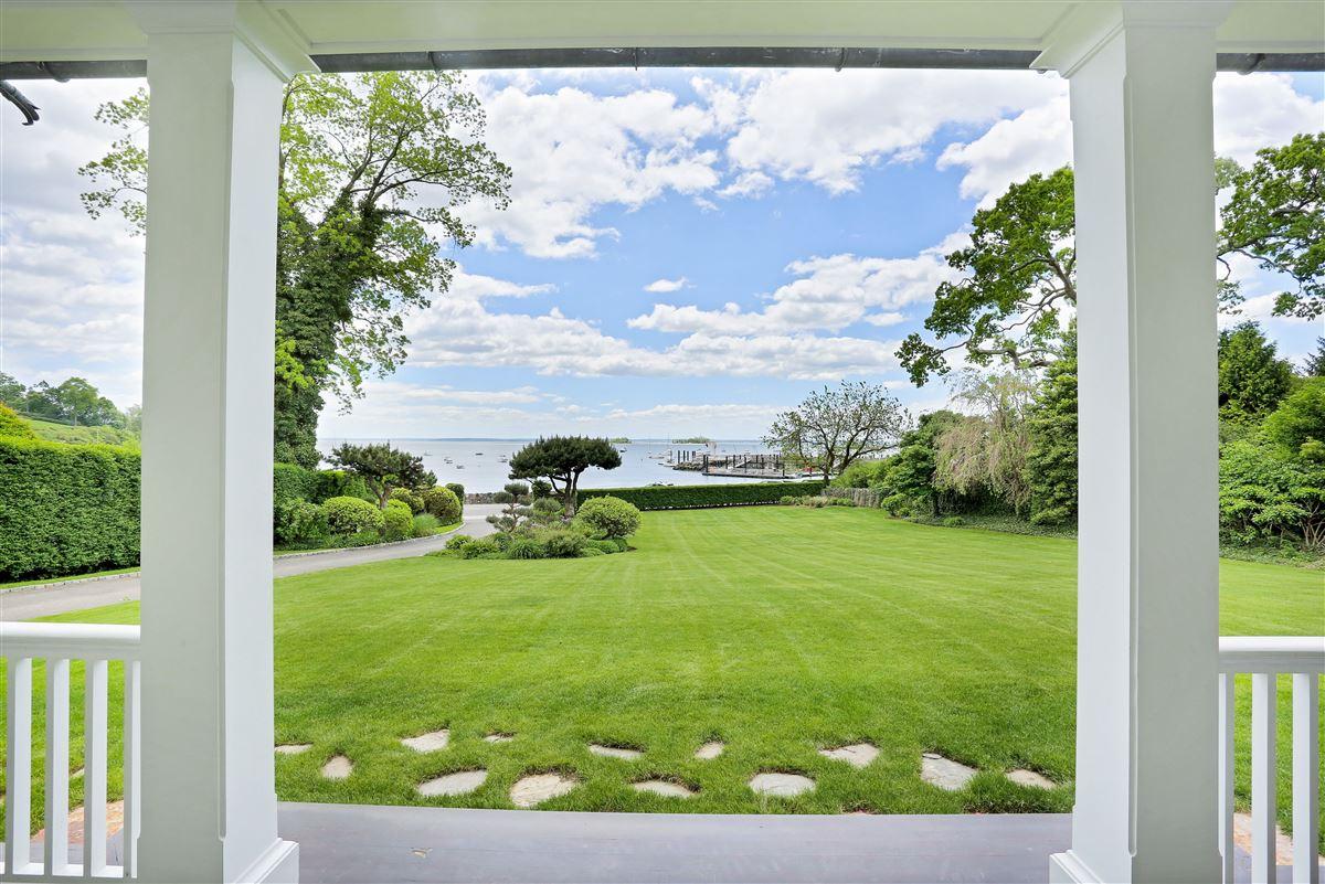 Luxury properties Spectacular custom shingle style Colonial