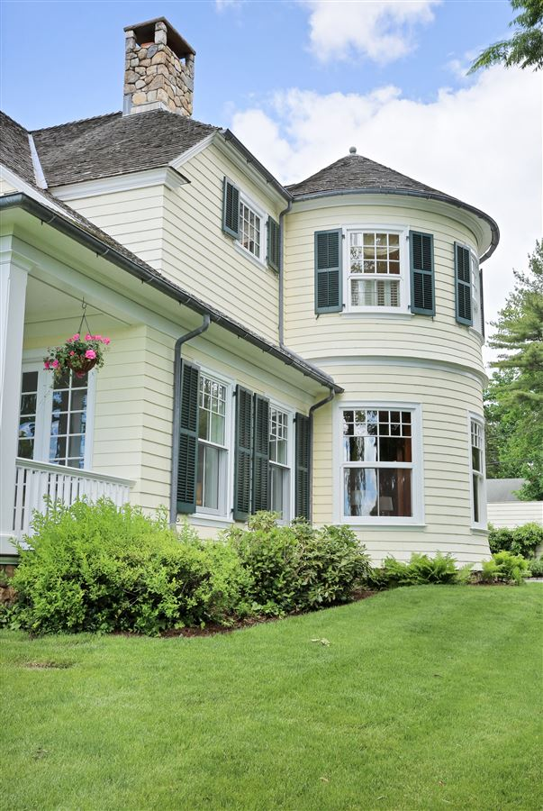 Spectacular custom shingle style Colonial  luxury homes