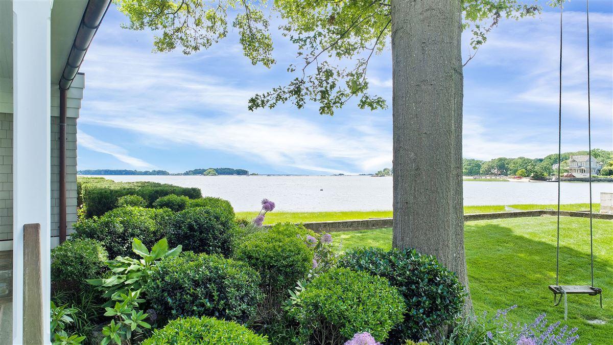 Luxury properties updated five-bedroom waterfront home