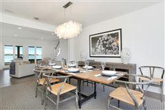 updated five-bedroom waterfront home luxury properties