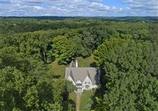 Luxury real estate Gracious colonial on two park-like acres