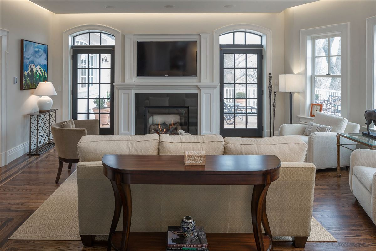 Luxury real estate meticulously renovated 1910 manor home