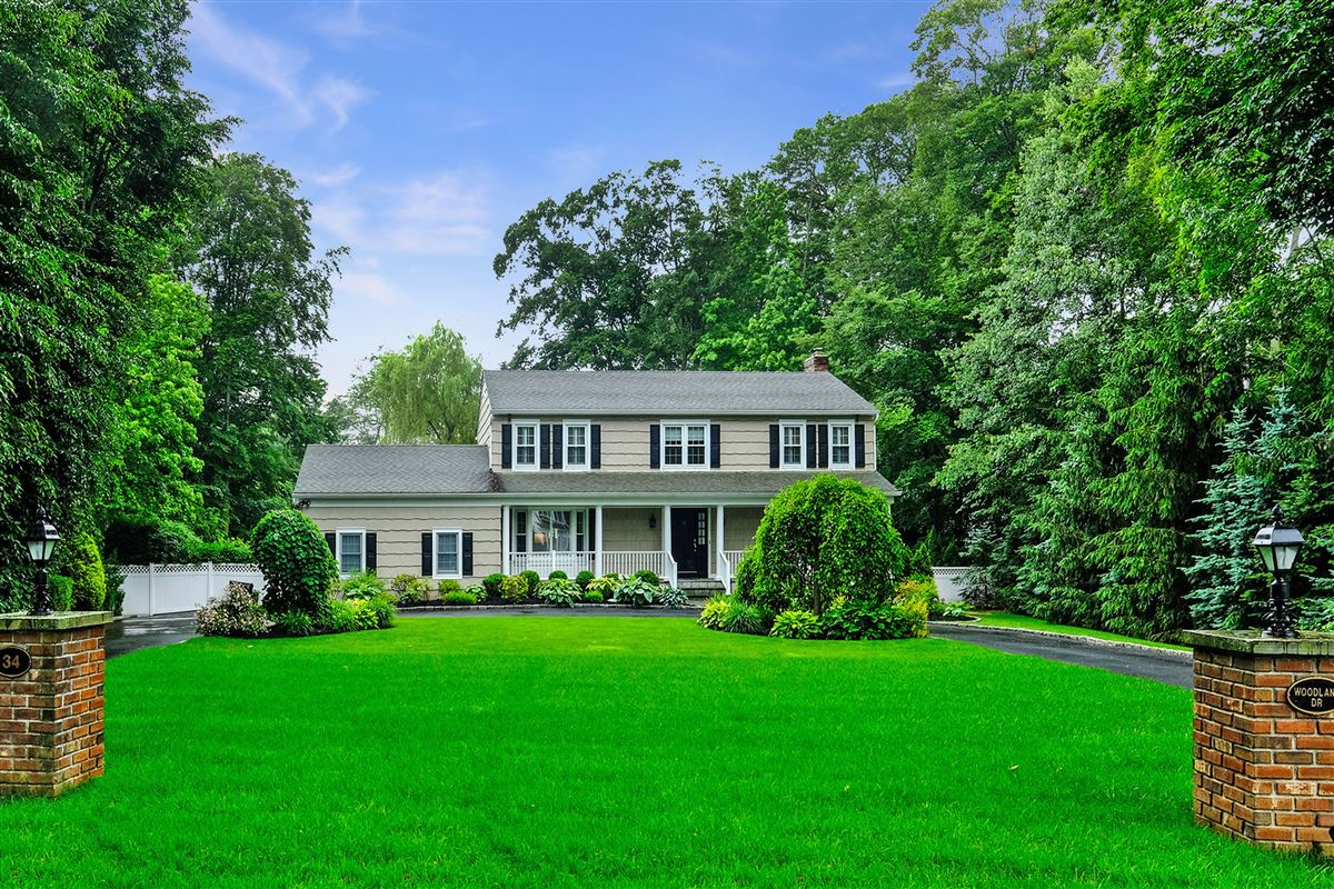 Luxury homes in beautiful park like private property