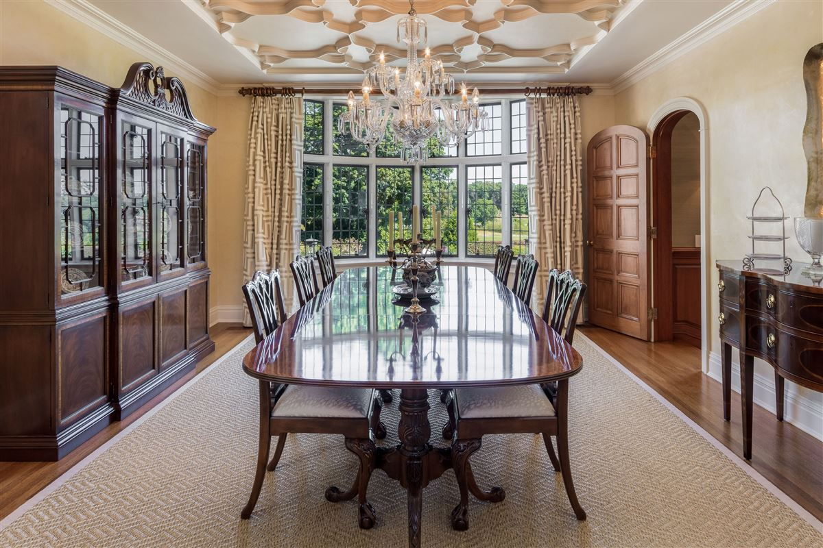 updated Cotswold Tudor Revival in New York luxury homes