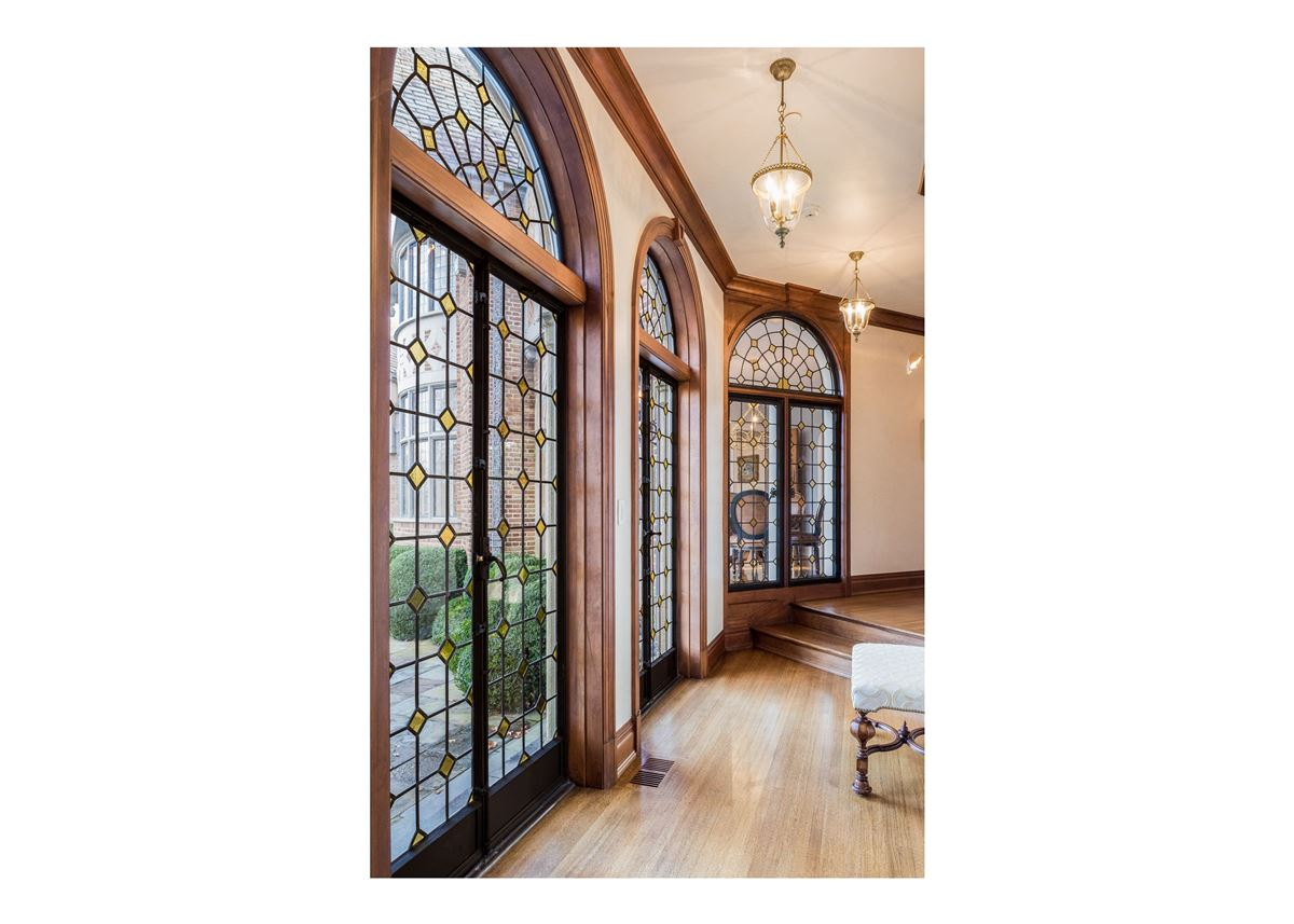 updated Cotswold Tudor Revival in New York luxury real estate