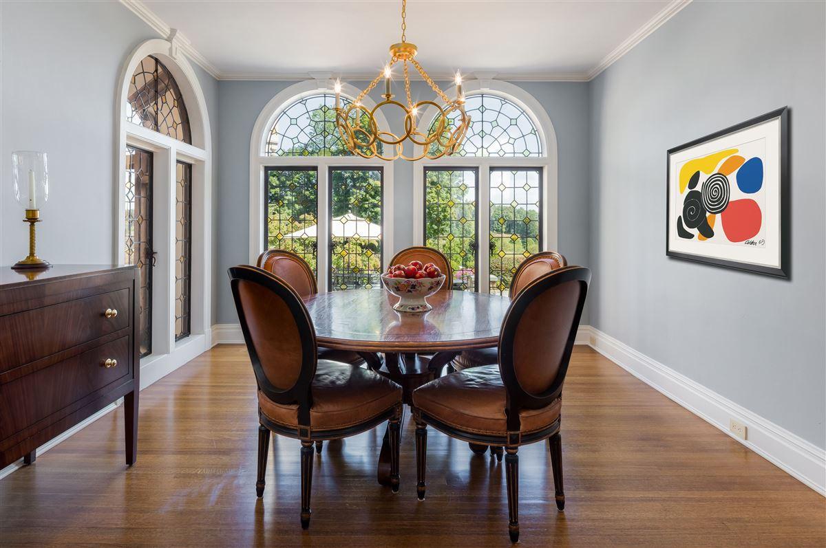 updated Cotswold Tudor Revival in New York luxury properties