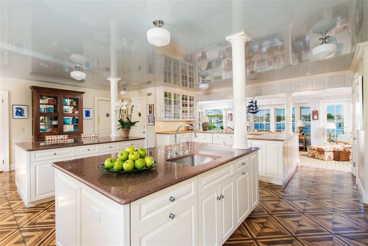 Luxury properties extraordinary Belle Haven waterfront estate