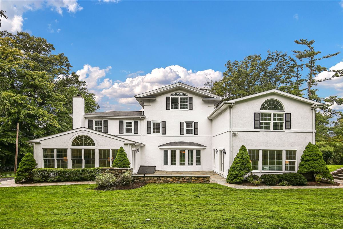 Picture Perfect Colonial on lush property mansions