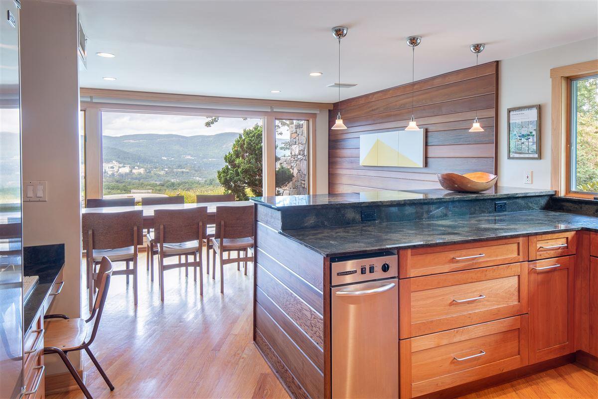 Luxury properties Gorgeous mid-century modern with amazing views