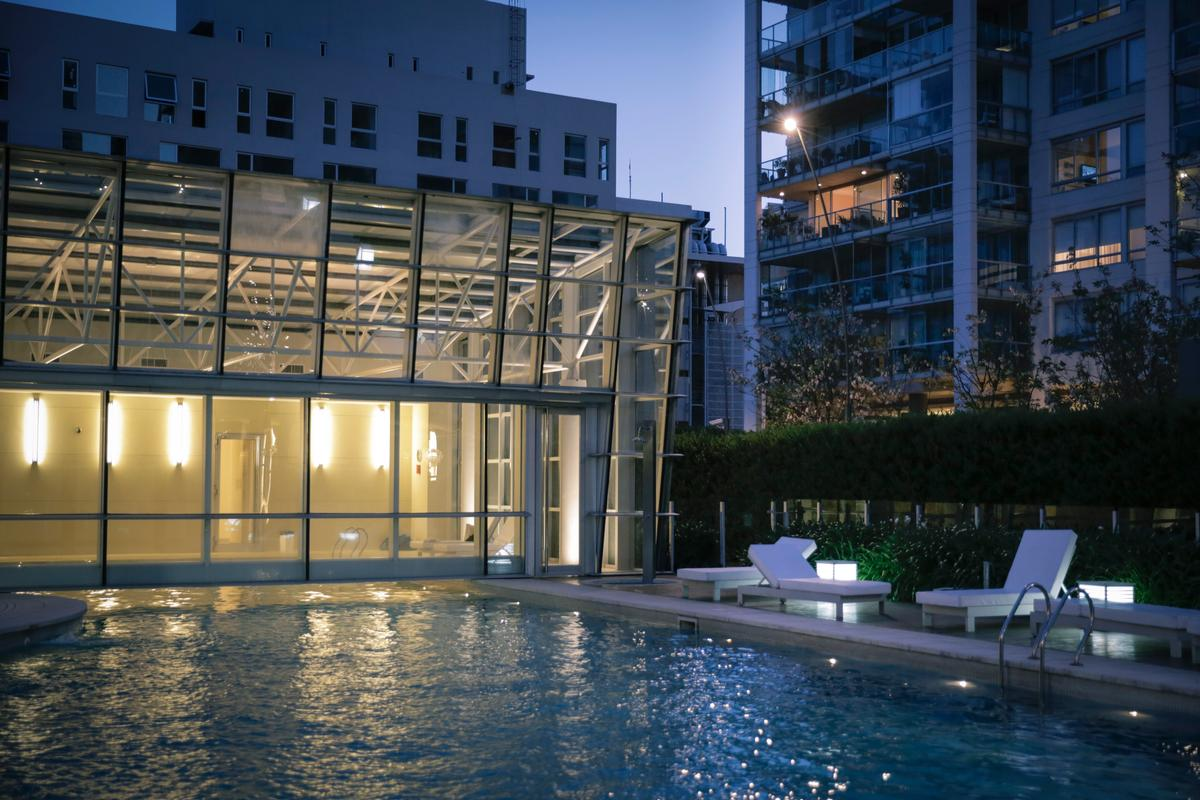 Luxury real estate Exclusive apartment in a full-amenities tower