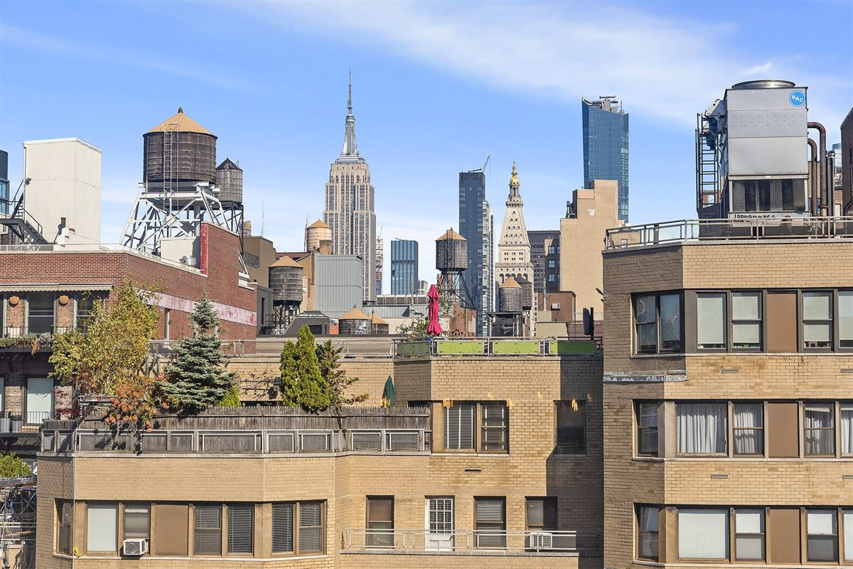 coveted building  in Greenwich Village luxury real estate