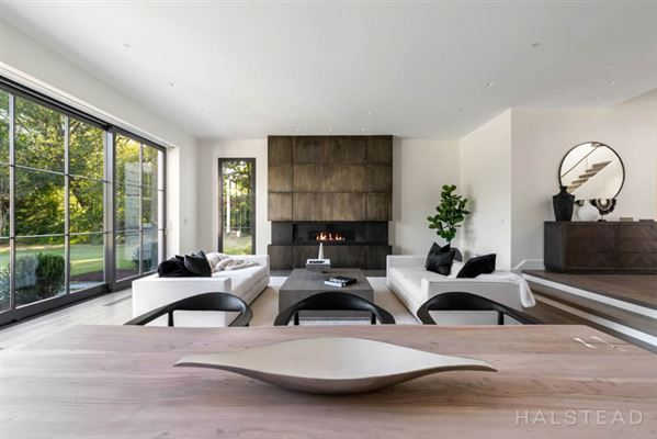 sophisticated organic aesthetic inside and out luxury real estate