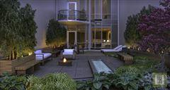 Luxury homes in modern luxury duplex