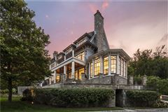 Mansions in Extraordinary Belle Haven direct waterfront home