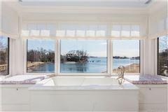 Luxury properties Extraordinary Belle Haven direct waterfront home