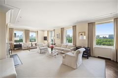 Luxury real estate meticulously renovated penthouse duplex
