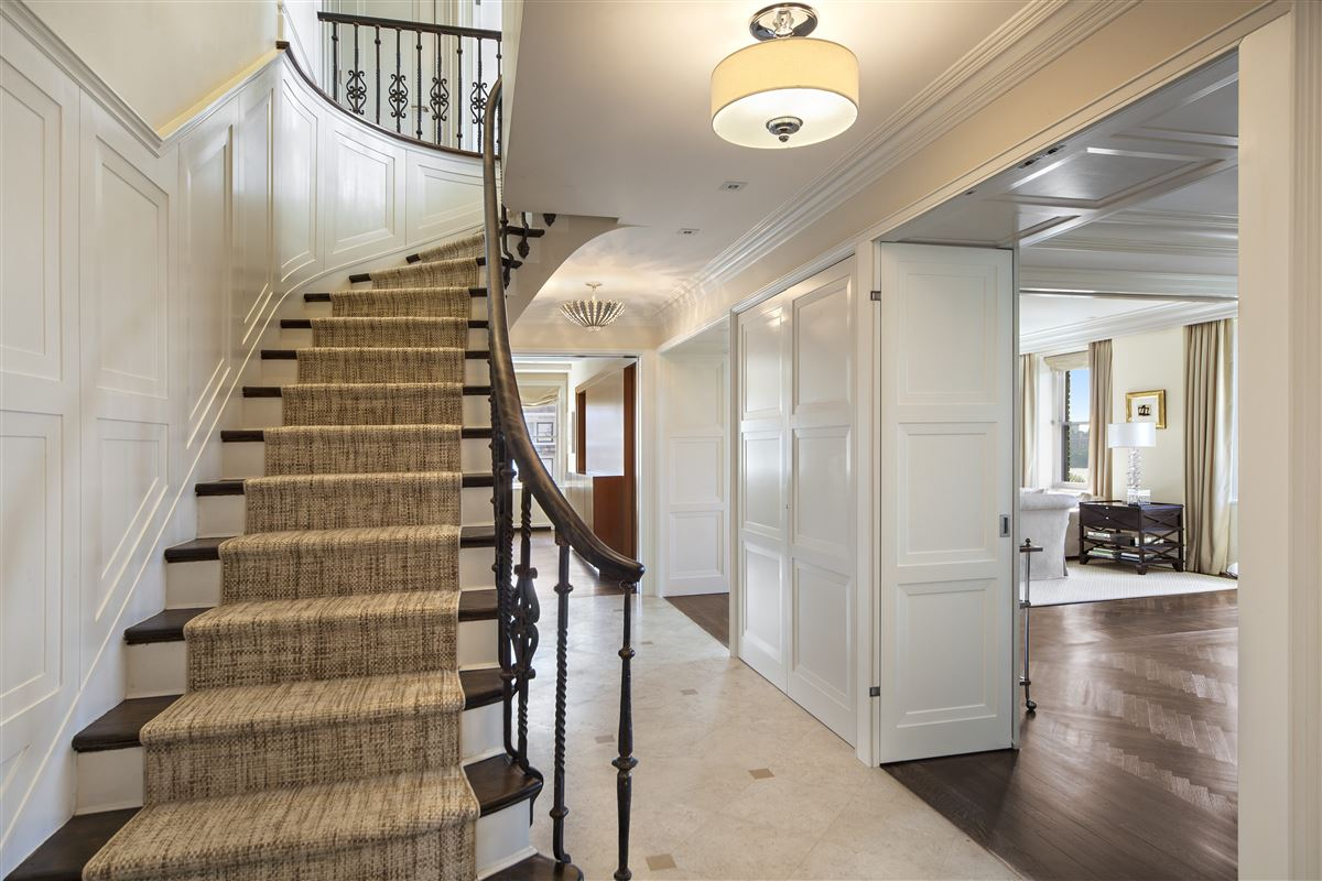 Luxury properties meticulously renovated penthouse duplex
