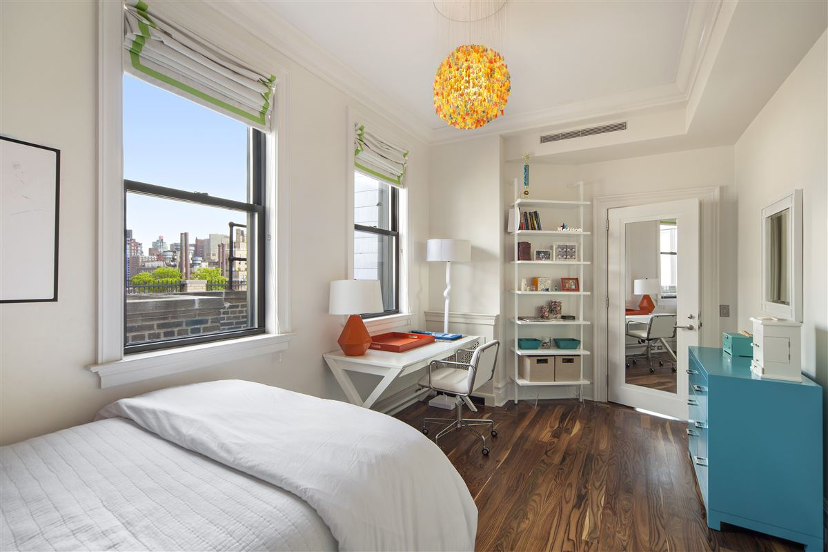 Luxury homes in meticulously renovated penthouse duplex