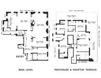 meticulously renovated penthouse duplex luxury homes