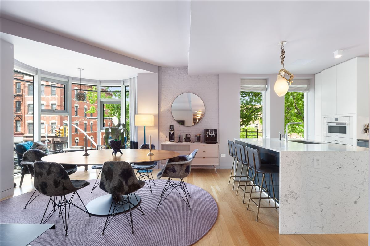 beautifully designed, reimagined form of brownstone Brooklyn. luxury real estate