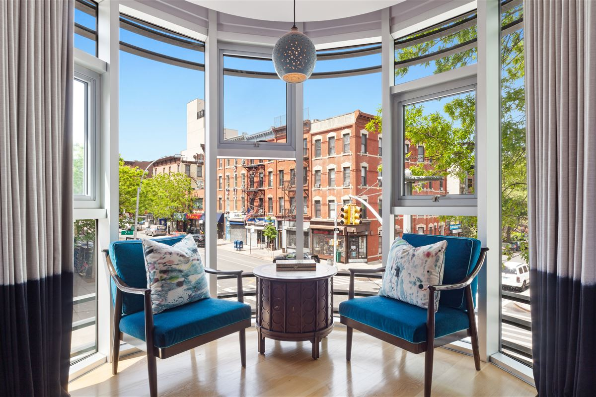 Luxury properties beautifully designed, reimagined form of brownstone Brooklyn.