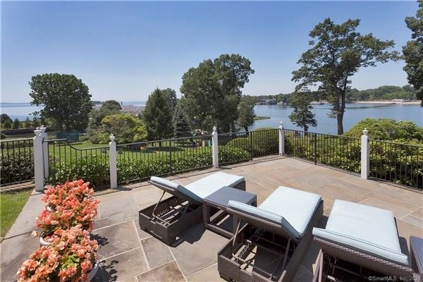 Luxury properties truly spectacular Belle Haven Association waterfront estate
