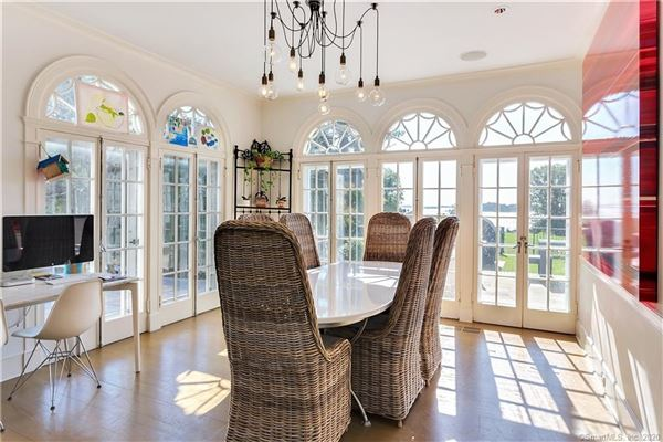 truly spectacular Belle Haven Association waterfront estate luxury real estate
