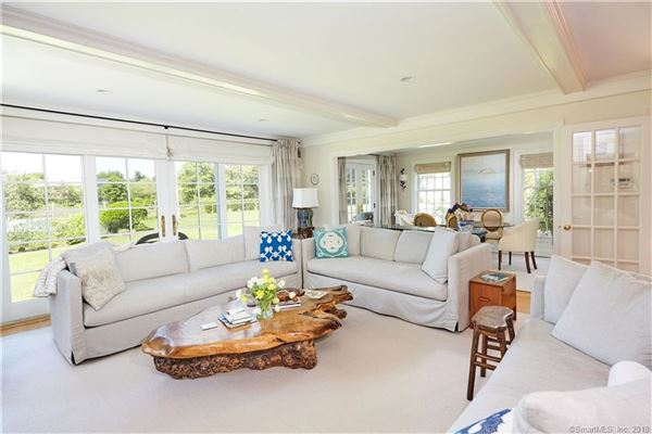 Mansions Stylish Expanded Cape home