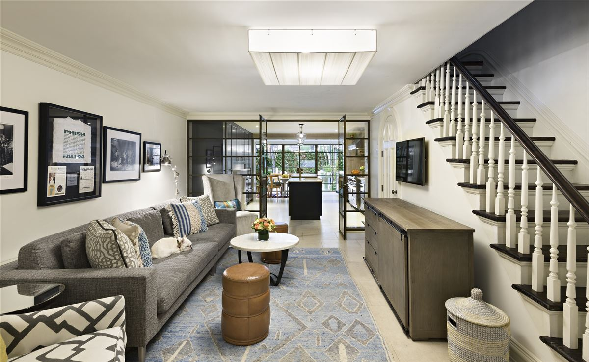 Swank and gorgeous townhouse in the West Village luxury real estate