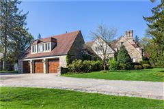 Mansions Exceptional Belle Haven peninsula stone English Manor style