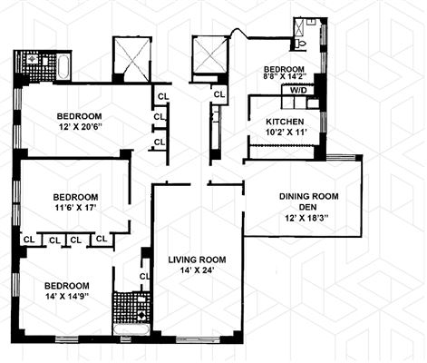 Sprawling prewar four bedroom southeast corner home mansions