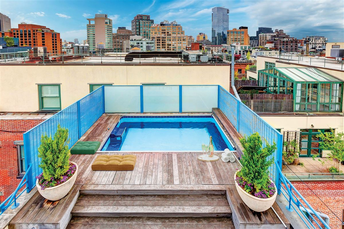 make an incredible triplex penthouse luxury properties