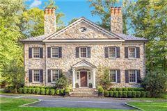 Luxury homes Elegant custom stone Georgian home