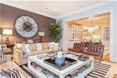 Luxury real estate Elegant custom stone Georgian home
