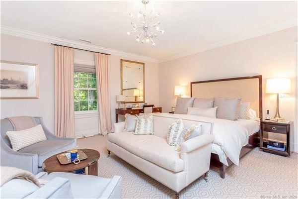 Elegant custom stone Georgian home luxury real estate