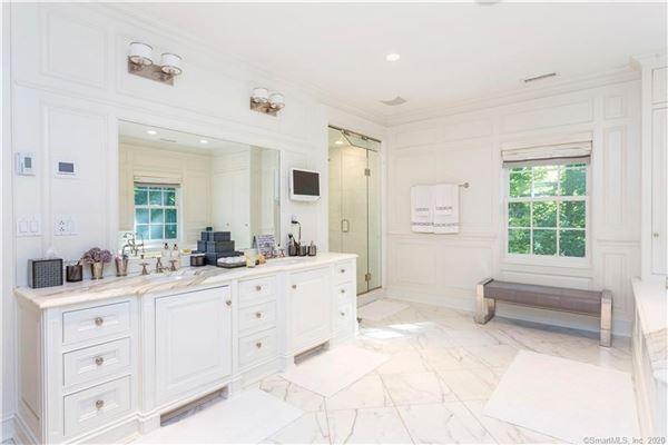 Elegant custom stone Georgian home luxury properties