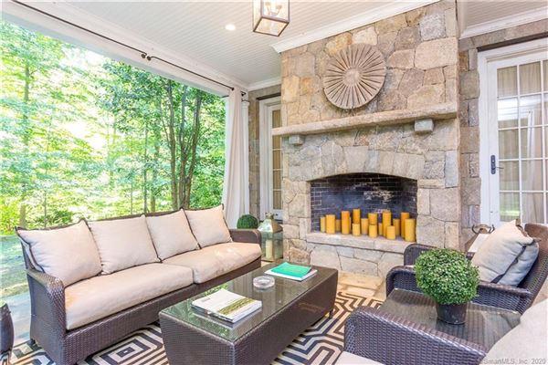 Luxury properties Elegant custom stone Georgian home