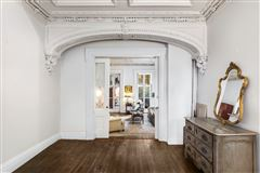 Luxury real estate stately West Village Town Home
