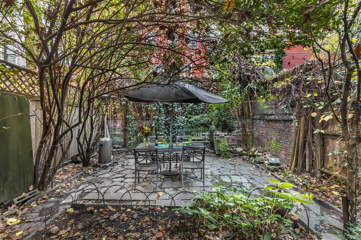 Luxury properties stately West Village Town Home