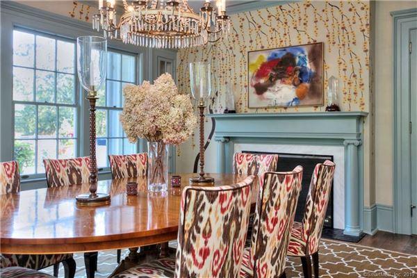 Luxury homes renovated 1908 Greek revival estate