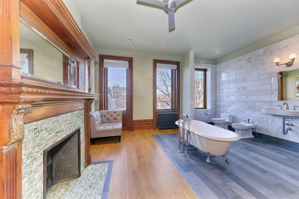 Luxury real estate lovingly restored townhouse