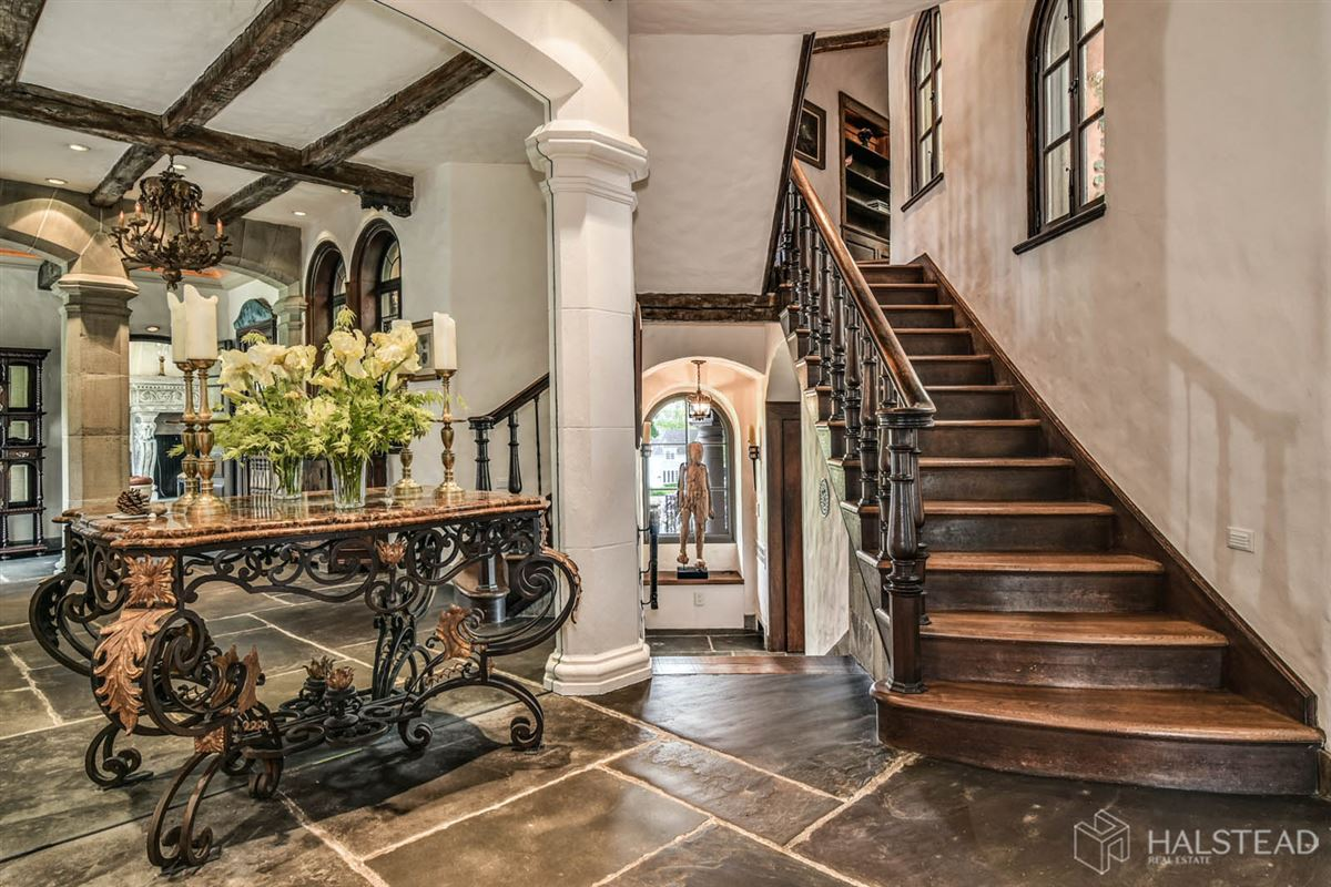 Luxury real estate majestic restored hillside Villa in darien