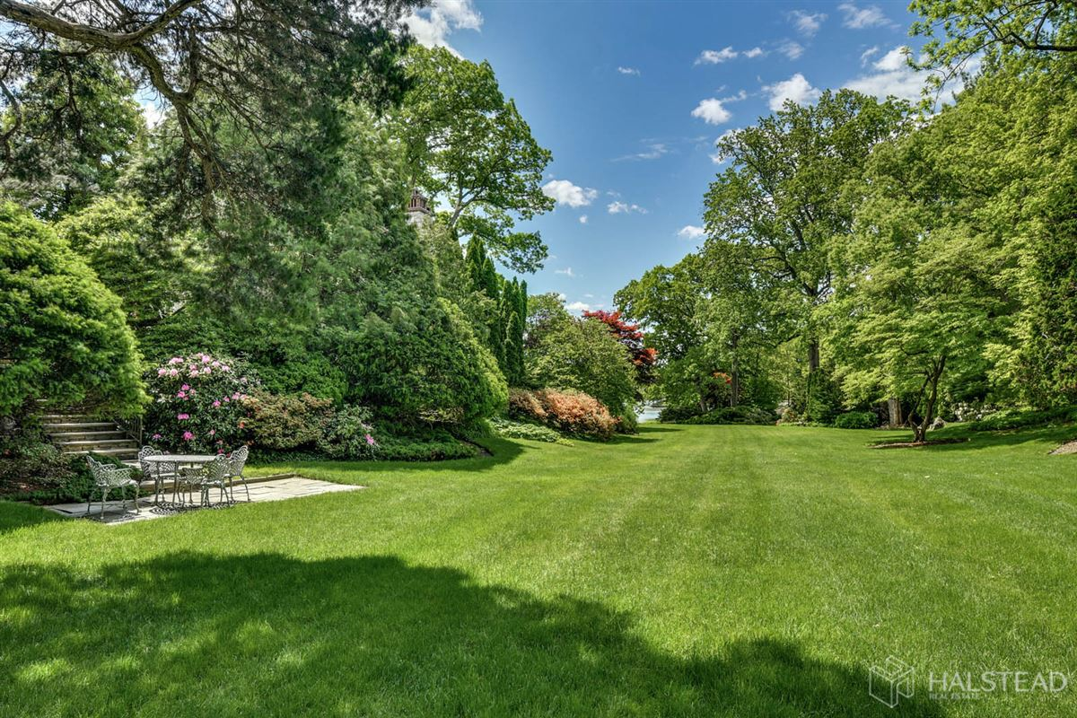 majestic restored hillside Villa in darien luxury real estate